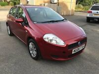 06 plate - fiat punto grande - 8 months mot - strong history with 12 service stamps