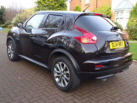 NISSAN JUKE 1.6 TEKNA 5d AUTO 117 BHP AUTOMATIC ++ 1 OWNER FROM NEW GREAT EXAMPLE OF LOW MILEAGE**
