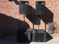 Peavey PA System for band or DJ