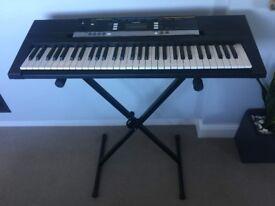 Casio PSR-E243 Electric Piano & Stand, Excellent Condition
