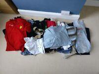 Job lot of men's clothing
