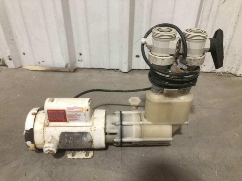 Sethco 17HP Corrosion Resistant Thermoplastic Pump 2850-3450RPM 1PH