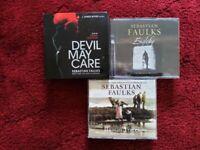 REDUCED - AUDIO BOOKS by SEBASTIAN FAULKS