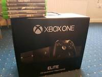 Xbox one elite 1tb plus extras