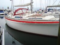 MOODY 36 GREAT SAILING CRUISER , REFITTED 2012 £24950 ONO price reduced