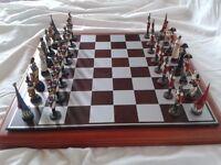 Battle of Waterloo. Wellington Chess Set