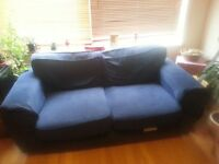 Beautiful Blue Sofa for Sale