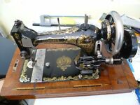 Antique HARRIS Sewing Machine