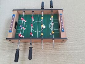 **SMALL TABLE TOP SIZE** GREAT FUN! Table Football