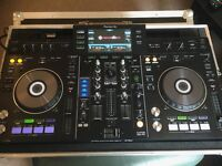 PIONEER XDJ-RX Console for sale and Swan flight case