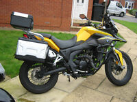 Absolute bargain, used as second bike hence extremely low mileage Honley RX300 badged as 'BMW' :-)