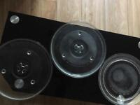 MICROWAVE GLASS PLATE 5 pounds each