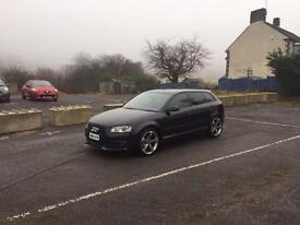 Audi A3 2.0 TDI 170 bhp standard Black Edition. 5dr.
