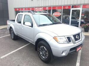 2017 Nissan Frontier PRO-4X,nav,sunroof,leather,loaded
