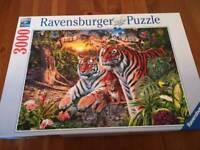 Ravensburger Puzzle, Tigers, 3000 Pieces