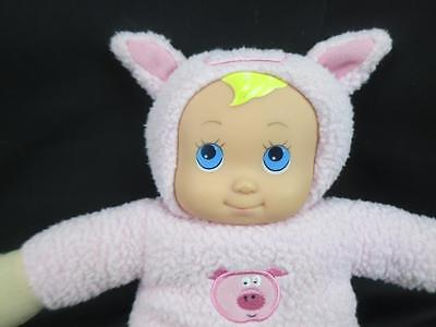 UNEEDA DOLL THIS LITTLE PIGGY WENT TO THE MARKET PINK COSTUME PLUSH STUFFED - This Little Piggy Costume