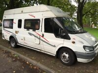 Ford transit motor home low miles 03 reg