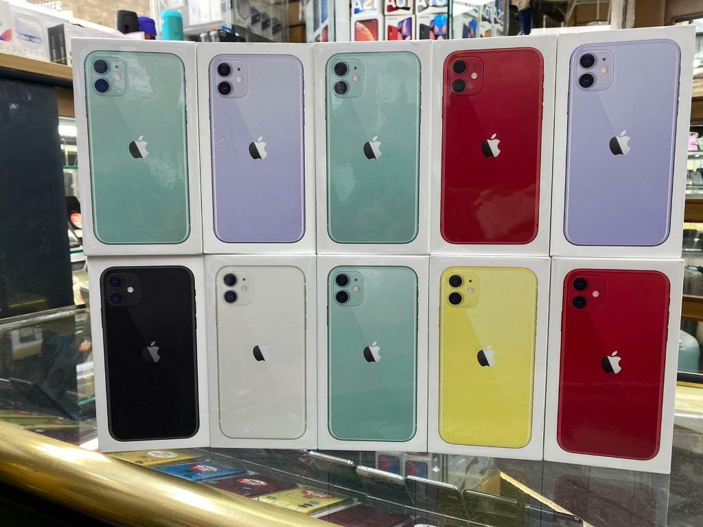 iphone 11 128gb unlocked like new box warranty Worldwide working