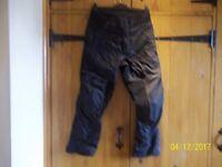 Ladies Rivit Motorbike trousers