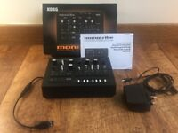 Korg Monotribe analogue synth groovebox fitted with USBTribe USB MIDI interface
