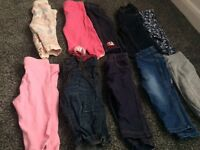 3/6 month baby girls clothes