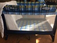 Graco pack n play travel cot with duvet