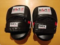 Blok-iT GEL focus mitts, as new