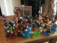 Wii Skylanders - Games and figures