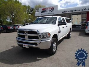 2015 Ram 3500 ST Crew Cab 4x4 - 27,244 KMs, Long Box Truck