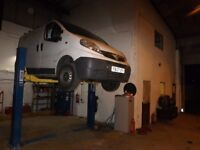 CAR & VAN REPAIRS GARAGE TYRES SERVICING BRAKES ALL MECHANICAL WORK UNDERTAKEN WELDING MECHANIC
