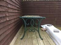 Cast iron bench/seat ends