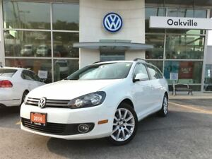 2014 Volkswagen Golf Wagon Wolfsburg Edition Navi Leather Sunroo