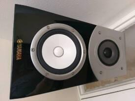 Yamaha Soavo NS-B901 natural sound high end bookshelf home cinema hi-fi speakers x2