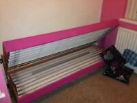 Double pine sun bed 16 tube