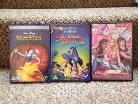 DVD bundles Snow White etc