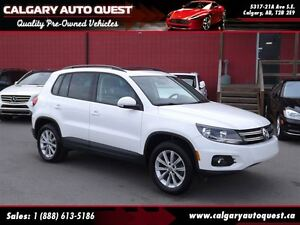 2013 Volkswagen Tiguan Comfortline 2.0T 4-MOTION AWD/PANOROOF/LE
