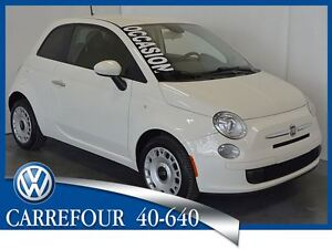 2013 Fiat 500 PoP Gr.Electrique+Air Automatique