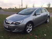 2012 VAUXHALL ASTRA 1.4I Executive Model ONLY 7K MILES 5DOOR HATCHBACK Only 7k miles 1 year MOT