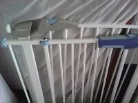 Stair gates x 2 V.good condition. Pet free smoke free home. My baby outgrown the need for them.