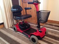 pride go go ultra mobility scooter comes apart to put in a car cost £900 genuine bargain only £295