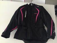 Ladies motorbike jacket size 16 £50