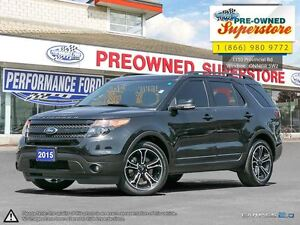 2015 Ford Explorer Sport>>>NAV, CAPTAIN'S CHAIRS<<<