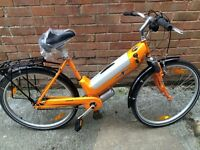 New mango 250w Electric Bicycle with lithium ion battery pack. 40 miles per charge!