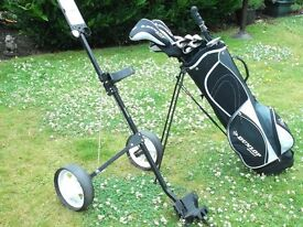 Set of Golf Clubs and accessories