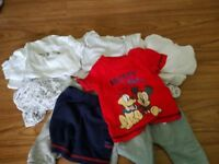 Baby boy and girls clothes 0-3, 3-6 and 6-9