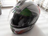 italian flag helmet size large