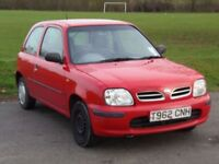 NISSAN MICRA 1.0 PETROL WITH LOW MILEAGE 68K, SEALING SPARES AND REPAIRS