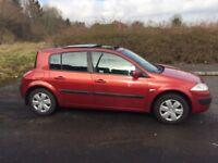 2006 Renault Megane 1.4 Oaisis only 85k miles bargain (Astra civic clio civic polo fabia Ibiza A3)