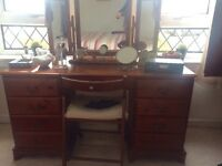 Mr Copperfield Cherry Pine Bedroom Furniture