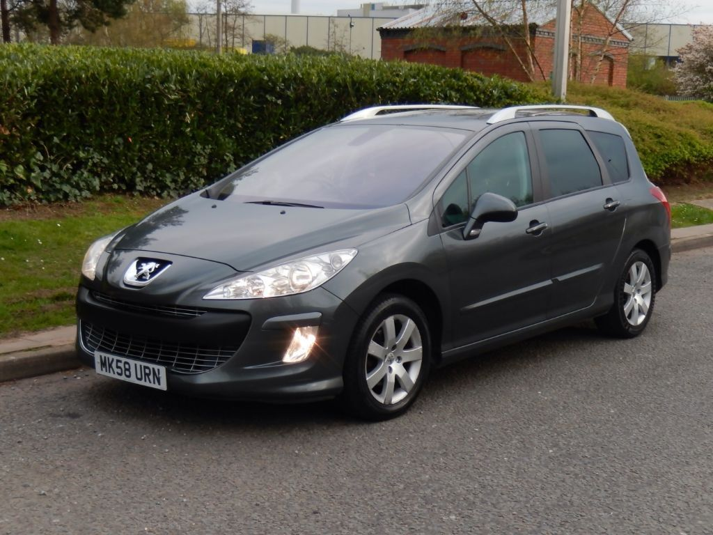 2009 peugeot 308 sw 1 6 hdi fap se 5dr manual diesel estate 7 seater f s h 1 owner 7 seats. Black Bedroom Furniture Sets. Home Design Ideas